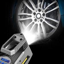 Portable Air Compressor Tire Inflator - Car Tire Pump With Digital Pressure  Gauge (150 Psi 12V Dc) Bright Emergency Flashligh - buy from 26$ on Joom  e-commerce platform