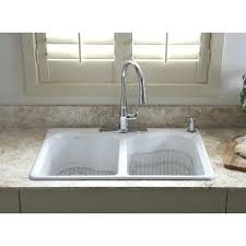 drop in white kitchen sink. Plain Kitchen White Kitchen Sink Drop In Shop X Double Basin Cast Iron    In Drop White Kitchen Sink E