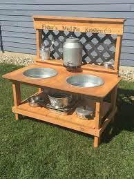 Gorgeous 30 Turn The Backyard Into Fun Play Space For Kids Https Kidmagz Com 30 Turn The Backyard Int Outdoor Play Kitchen Diy Mud Kitchen Kids Outdoor Play