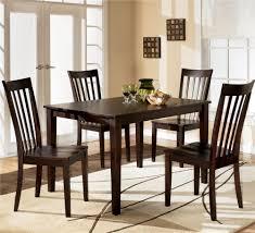Ashley Furniture Hyland 5-Piece Dining Set with Rectangular Table ...