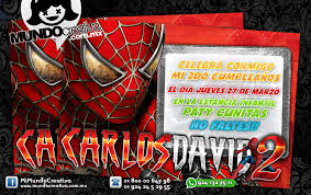 Invitaciones De Spiderman Para Editar Invitacion Del Original Spiderman Tips E Ideas Engaging Clothing