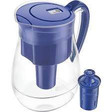 Water filter pitcher Target Brita Large Water Filter Pitcher With Longlast Filter Reduces Lead Bpa Free Monterey Blue 10 Cup Walmartcom Walmart Brita Large Water Filter Pitcher With Longlast Filter Reduces