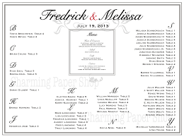 Kleinhans Seating Chart Pin On Wedding Table Charts