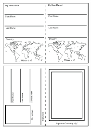 Travel Brochure Template For Students Student Brochure