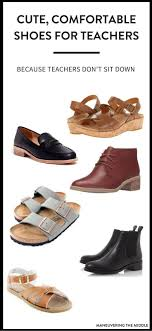 Finding comfortable shoes for teachers can be a huge dilemma! 5 teacher  approved shoes that
