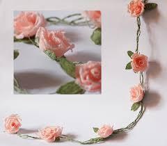 Paper Flower Garland Wedding Garland Paper Wedding Garland Paper Flower Garland