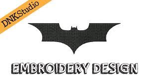 Free Batman Machine Embroidery Designs Batman Bat Symbol Machine Embroidery Design Redraw Youtube