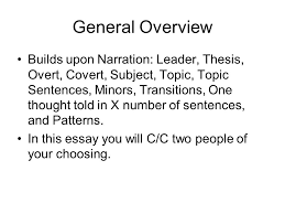 comparison and contrast essay ppt video online  general overview
