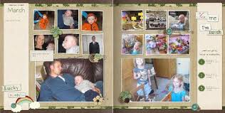 Family Story Book Template Family Yearbook Month By Month Designed By Michelle Bell