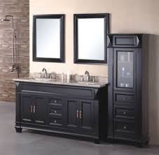 bathroom vanity black. 60inc Double Sinks Bathroom Vanity Cabinet D970 Black Y
