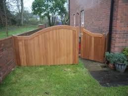 1 3 pedestrian and 2 3 sapele hardwood garden gates