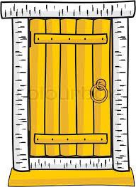 wooden door clipart.  Door And Wooden Door Clipart I