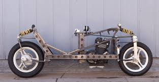 Sidecar Chassis Design Homebuilt Recumbent Motorcycle Racer Competes In Mra