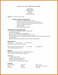 Resume Letter For Applying Job Letter Of Intent Application Job