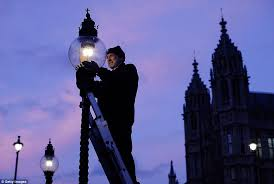 magical job the five remaining lamplighters in london are actually british gas engineers you