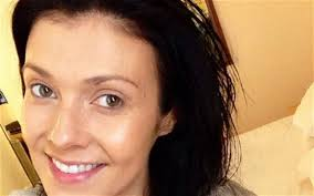 actress kym marsh is supporting the nomakeupselfie trend