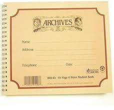 Manuscript Paper 6 Stave Book