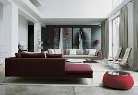 Maroon Curtains For Living Room Gray And Burgundy Living Room Living Room Design Ideas