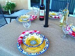 round umbrella tablecloth outdoor tablecloths with umbrella hole and zipper