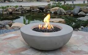 gas fire bowl. Wonderful Fire Image Is Loading LunarBowlEcoStoneGreyGasFirePit With Gas Fire Bowl N