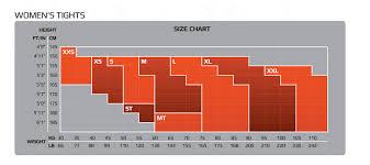 2xu Compression Socks Size Chart Details About 2xu Compression Tights Womens Black Nero