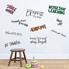 Amazon Inspirational Attitude Wall Quotes Decals For Kids Rooms Mesmerizing Quotes About Kids Learning
