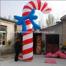 Large Candy Cane Decorations Giant Inflatable Candy Cane Christmas Decoration Buy Inflatable 20