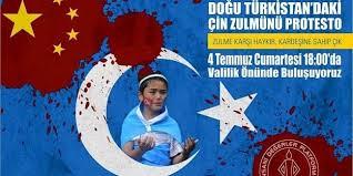 Uygur Türklerinin protesto eylem resimleri ile ilgili görsel sonucu