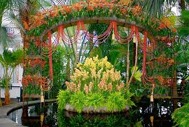 the new york botanical garden s orchid show on broadway