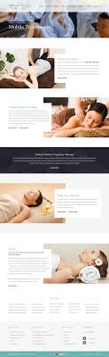 Essential Oil Website Design Massage Therapy Business Website Design By Nexstair On