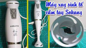 REVIEW Máy Xay Sinh Tố Cầm Tay Sokany HB250 công suất 300W