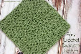Easy Crochet Dishcloth Patterns Cool Easy Crochet Dishcloth Pattern Midwestern Moms