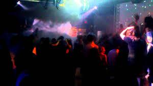 Gay nightclub foam party