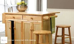 kitchen island cart with seating. Sublime Kitchen Island Cart With Seating