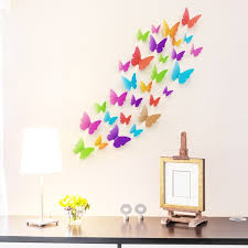 Butterfly Home Decor Accessories Lovely wall Sticker 100D Butterfly Home Decoration Accessories 100d 74