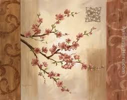 blossom branch i painting vivian flasch blossom branch i art painting