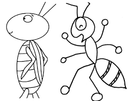 Small Picture Ants Coloring Pages Coloring Pages Kids