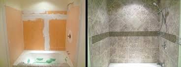tile around tub shower combo i white tile bath shower combo