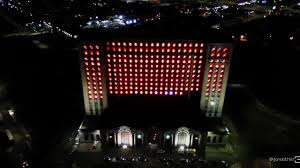Crazy Train Light Show Heres A Great Drone Video Of The Crazy Light Show At