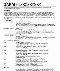 Resume With References 36 Animal Trainers CV Examples | Veterinary CVs | LiveCareer