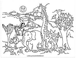 Zoo Animal Coloring Pages Animal Coloring Page Zoo Pages For Adults