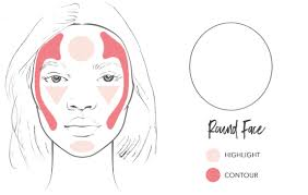How To Contour A Round Face 100 Pure