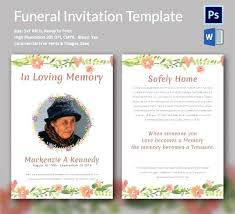 Memorial Pamphlet Template Funeral Flyer Template Onweb Pro