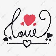 Cute Simple Vector Design Of Love ...