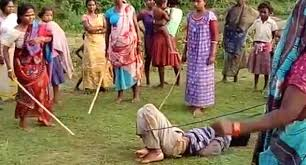 Image result for two women fighting with man in the middle getting beat up