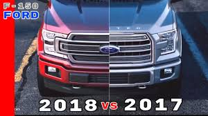 2018 ford king ranch colors. perfect ford 2017 vs 2018 ford f150 truck for ford king ranch colors