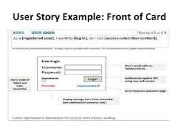 Agile Story Card Template Word Agile Story Template Magdalene Project Org