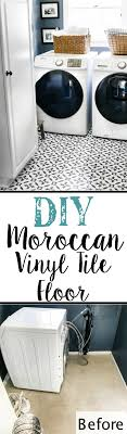 diy moroccan vinyl tile floor blesserhouse com a diy tutorial for how to