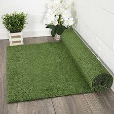 details about artificial grass synthetic turf lawn carpet rug indoor outdoor runner 2 7 x 8