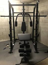Weider Pro 8500 Exercise Chart Weider Pro 8500 Smith Weight Cage 755 68 Picclick
